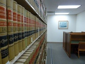creative commons image - law library