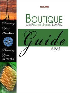 Texas Lawyer includes The Law Office of Natalie Gregg in 2013 Guide
