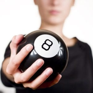 Are you willing to shake the Magic 8 Ball by Going to Trial?